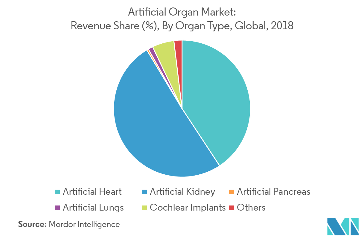 Artificial Organ Market | Growth, Trends, and Forecast (2019-2024)
