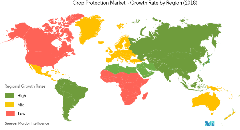 Global Crop Protection Market map