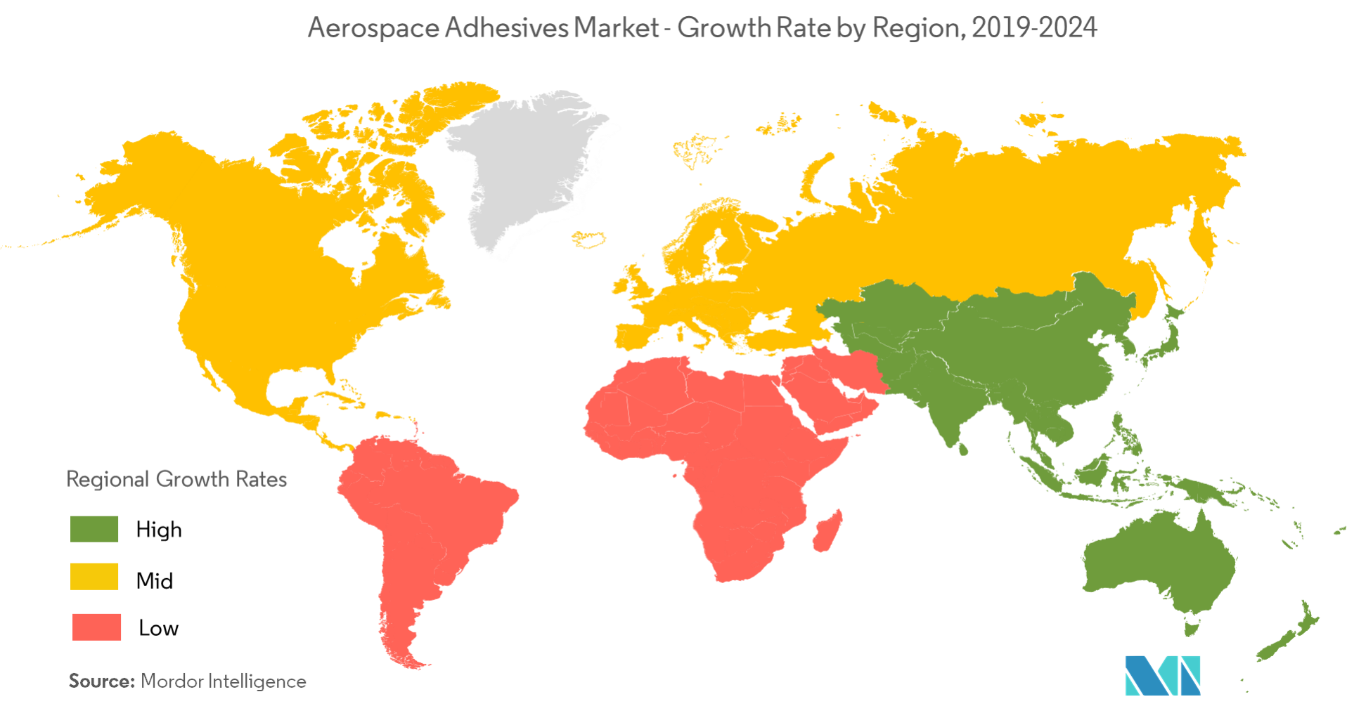 Regional - Aerospace Adhesives Market