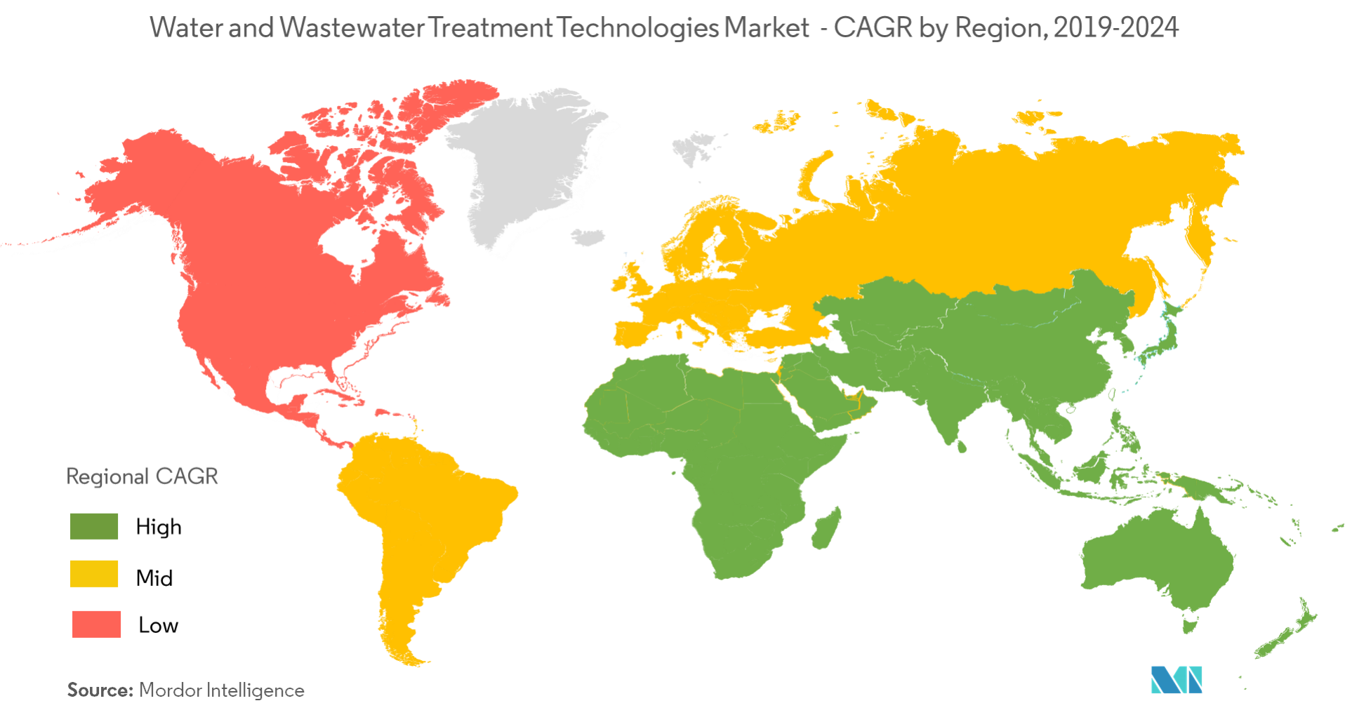 water and wastewater treatment technologies market