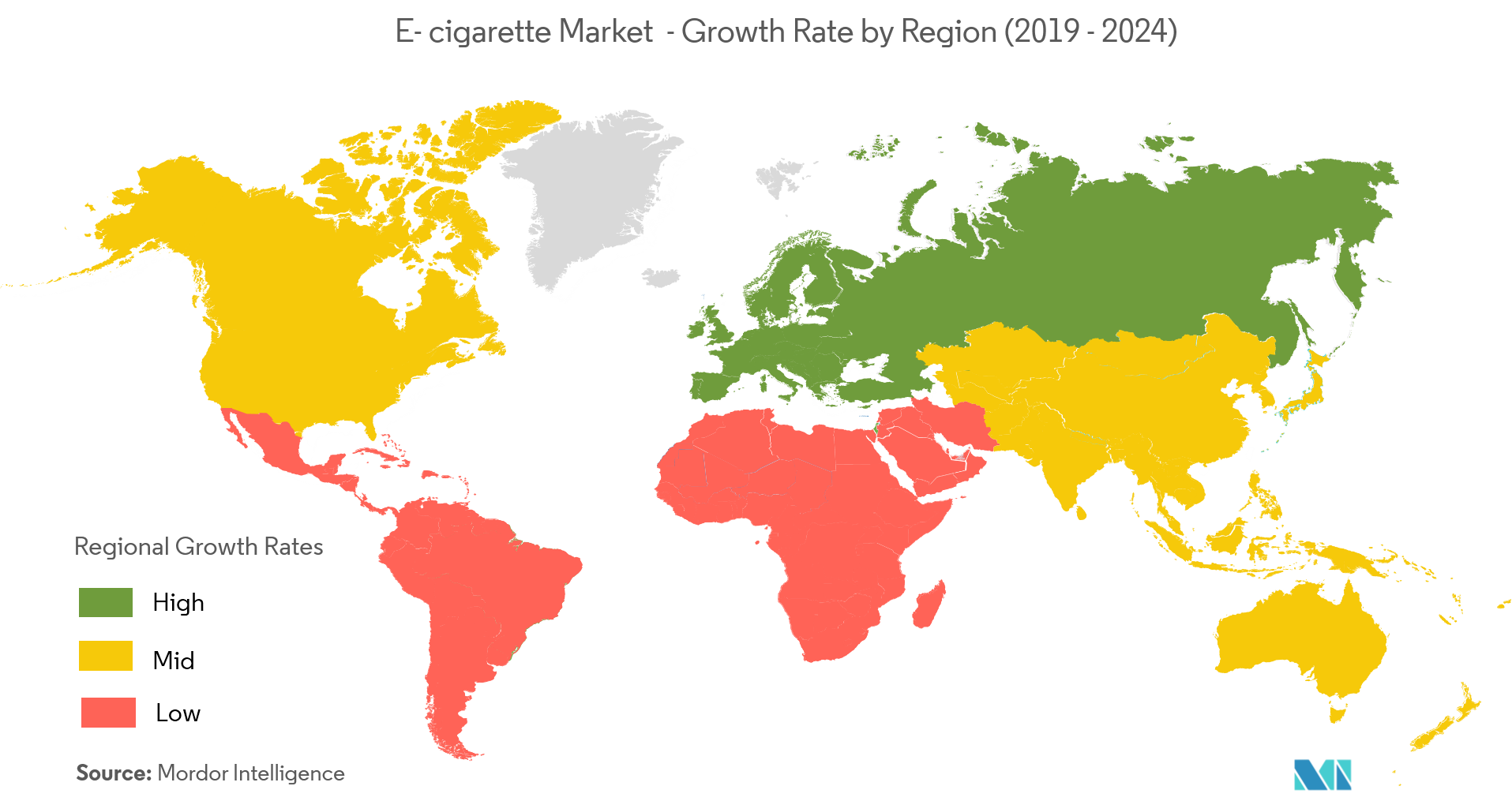 E-cigarette Market | Growth, Trends, and Forecast (2019 - 2024)
