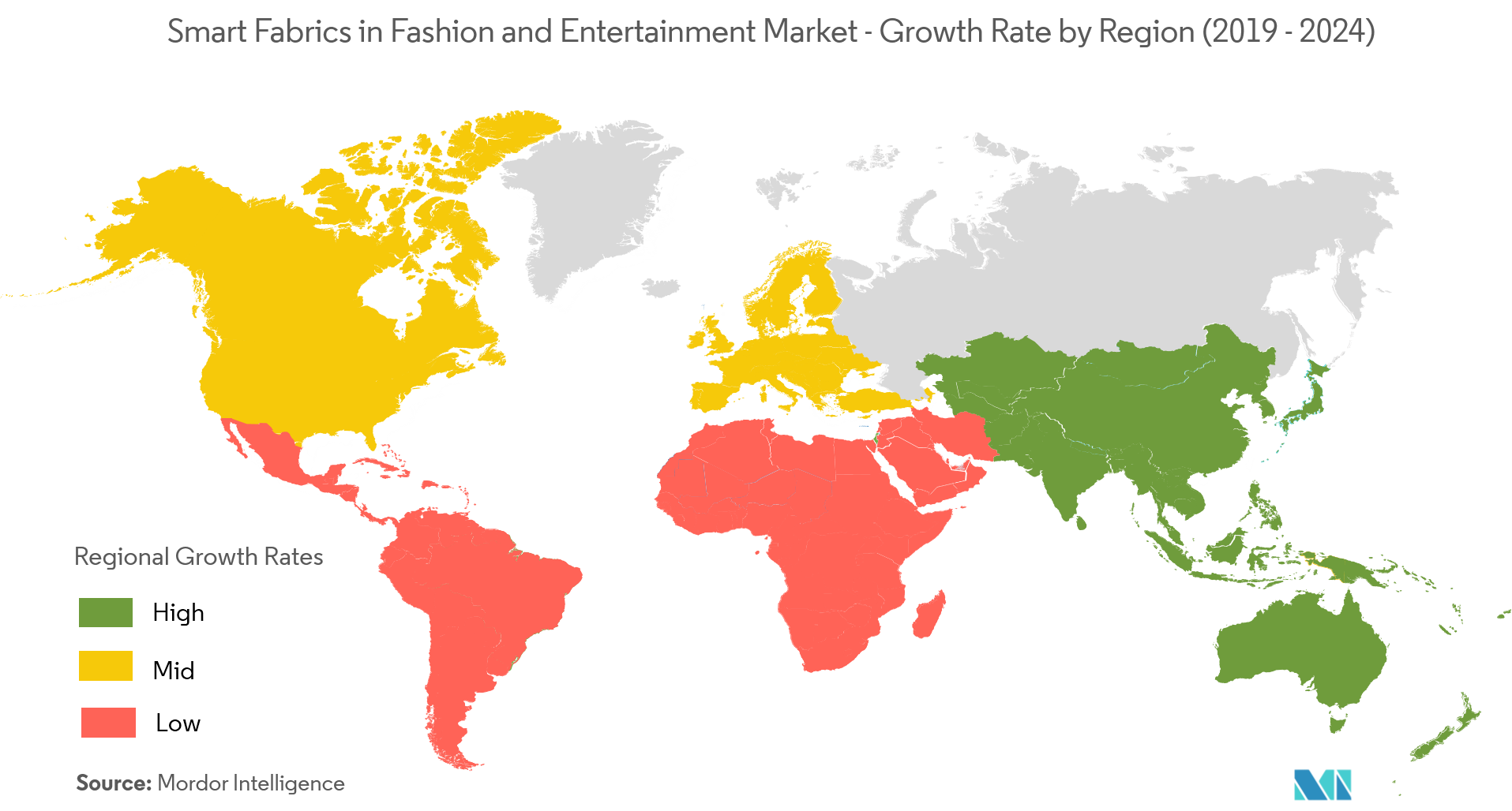 smart fabrics in fashion and entertainment market