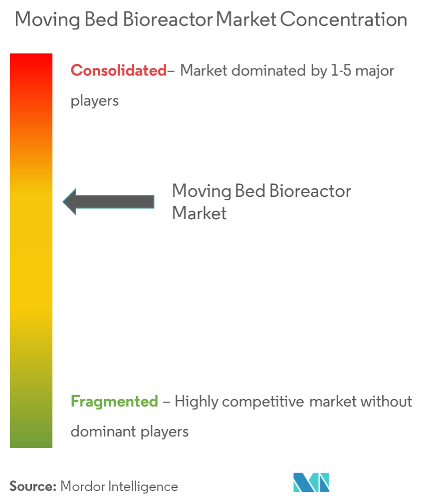 Moving Bed Bioreactor Market - Market Concentration