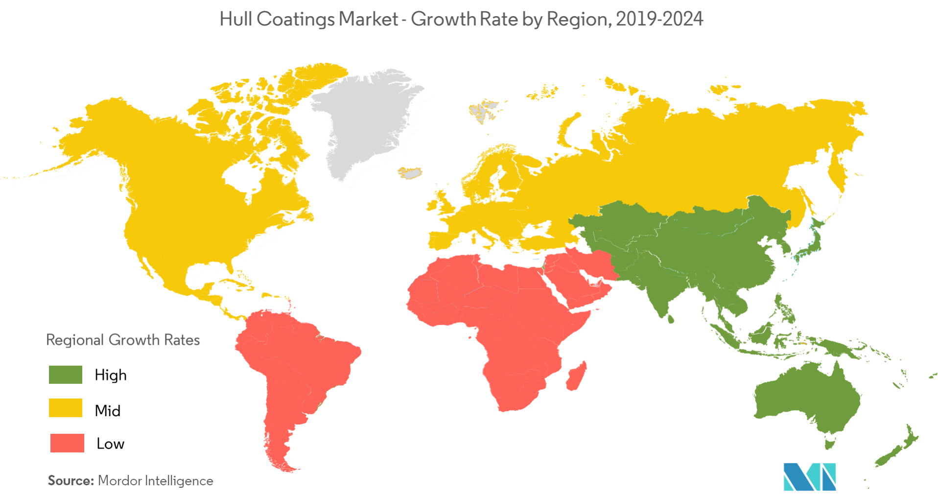 Hull Coatings Market - Regional Trends