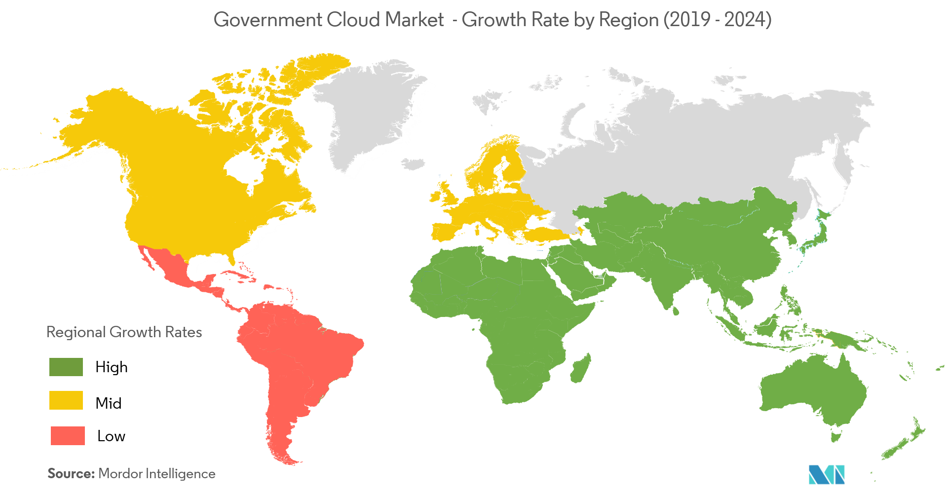 govt cloud map