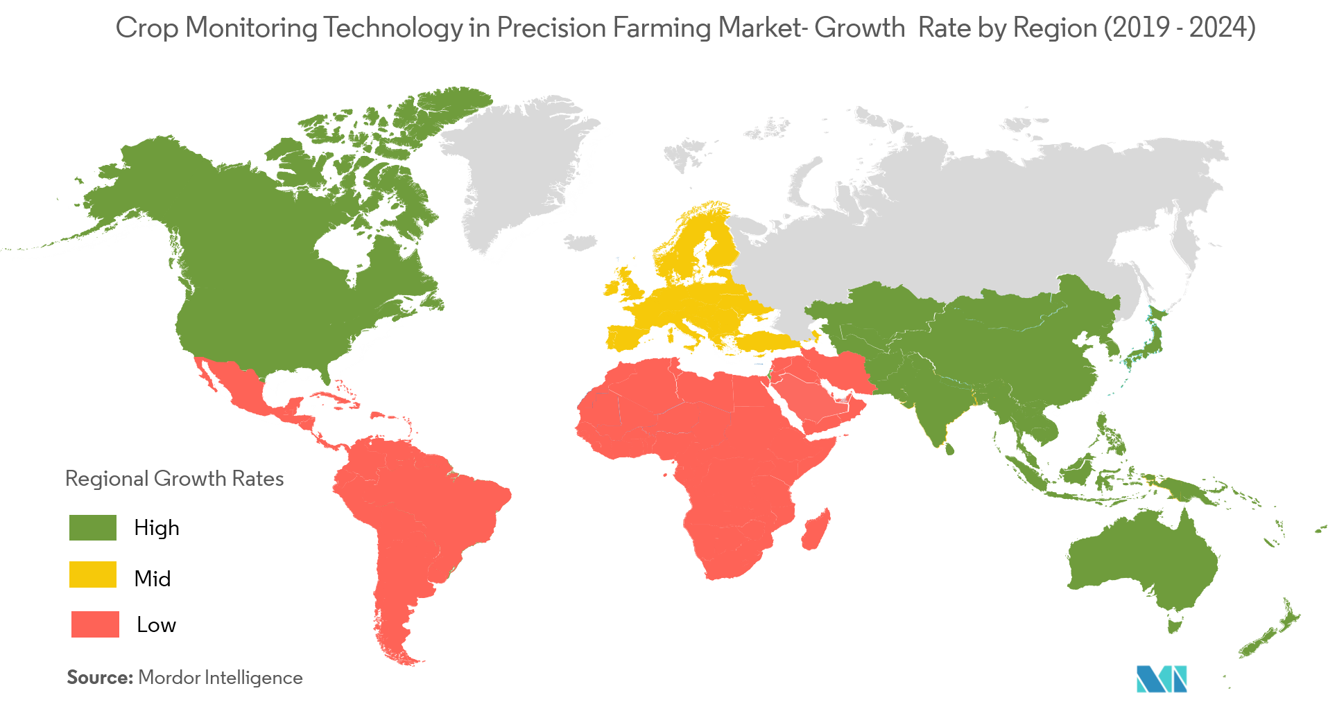 crop monitoring technology in precision farming market