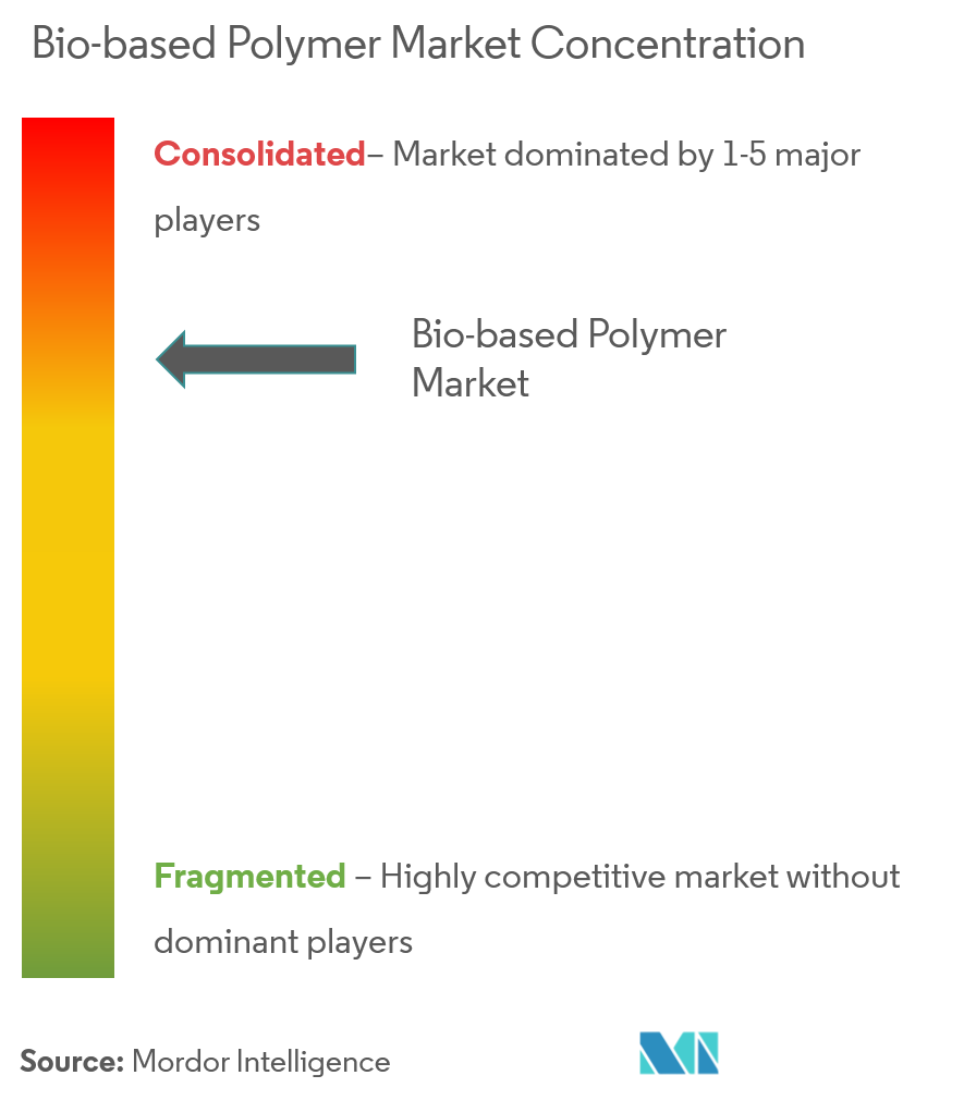 Market Concentration - Bio-based Polymer