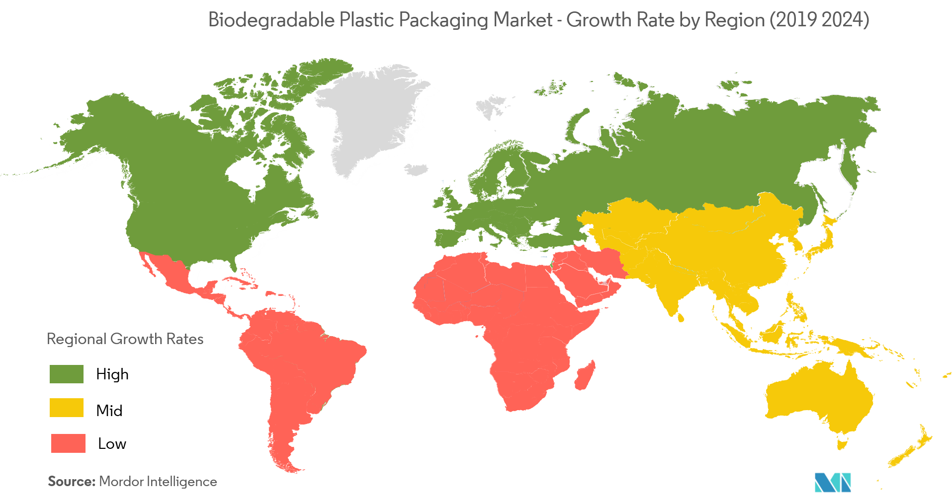 Biodegradable Plastic Packaging Solutions Market Growth Rate