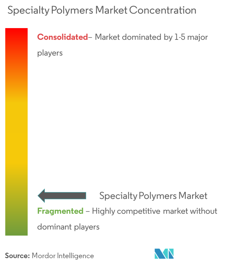 Specialty Polymers Market - concentration