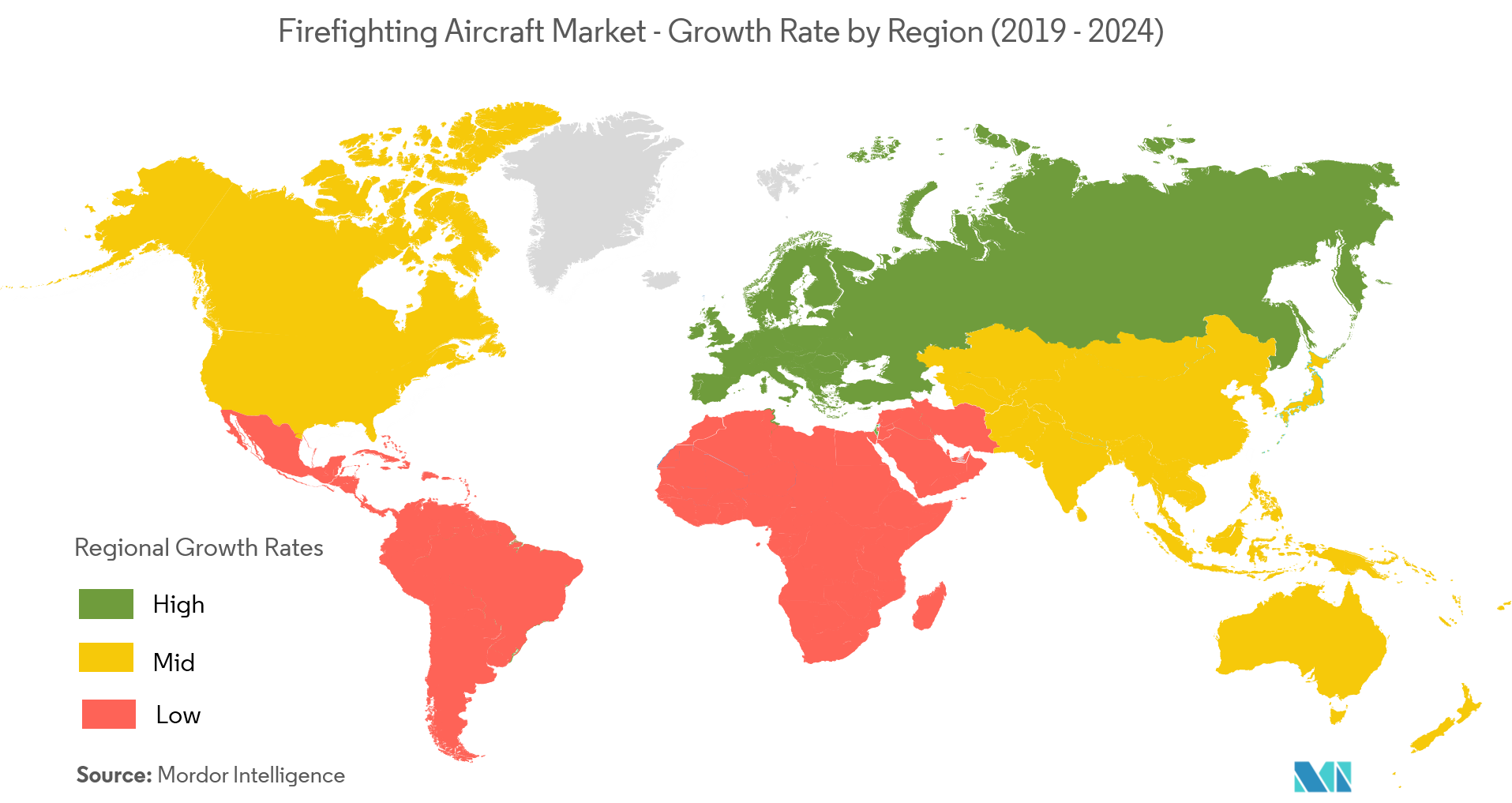 fire fighting aircraft market geo