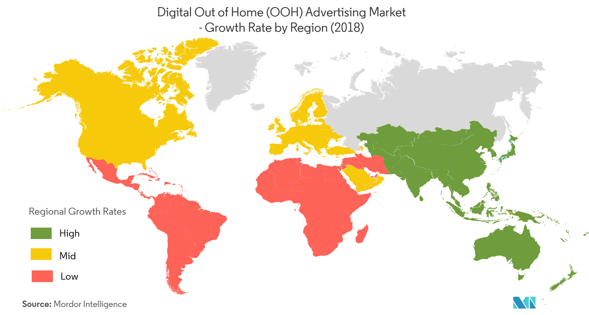 Digital Out of Home (OOH) Advertising Market Growth