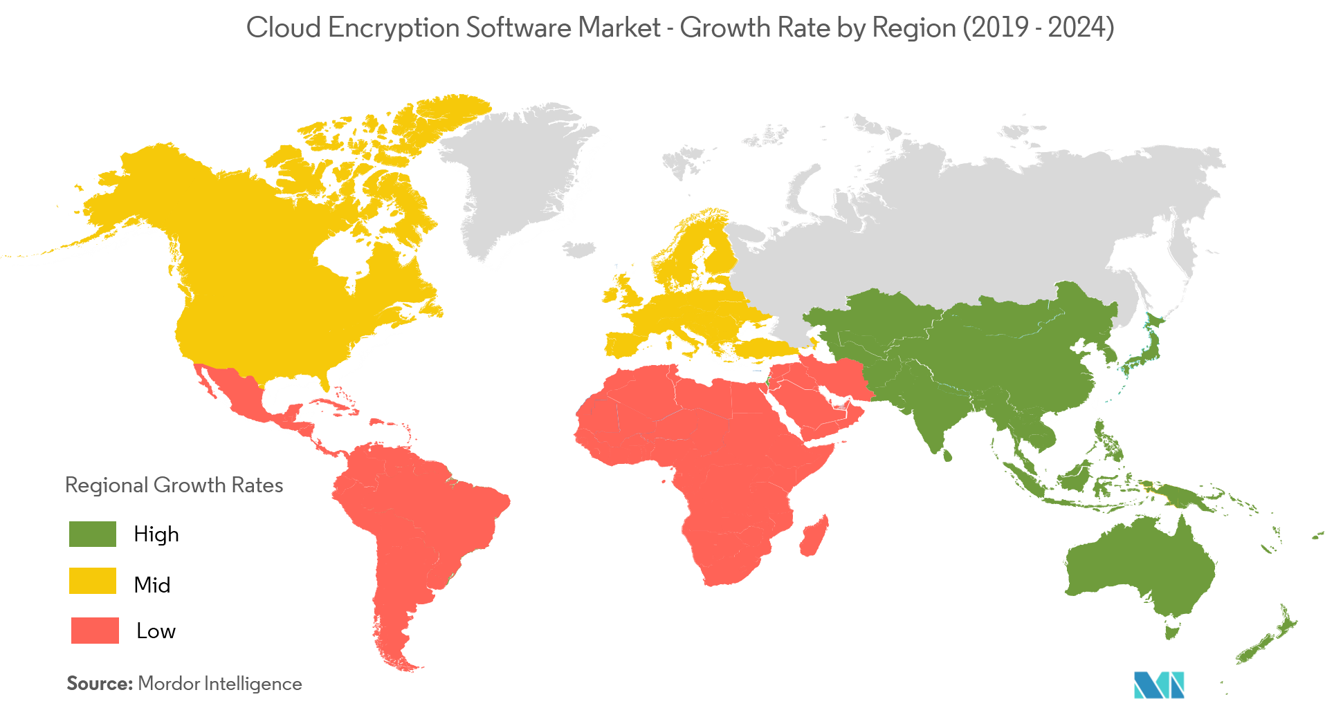 gobal cloud encryption software market