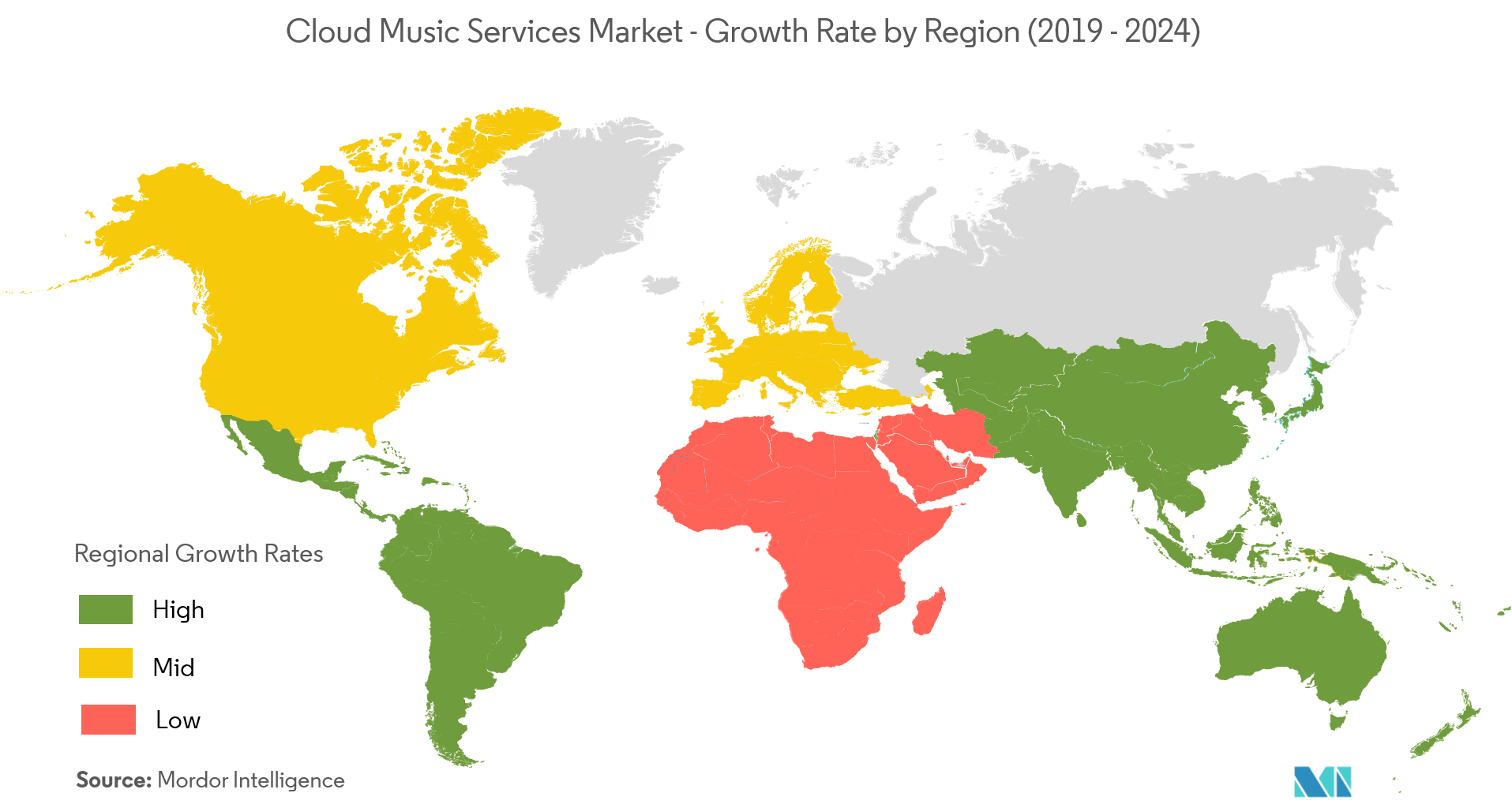 cloud music services market