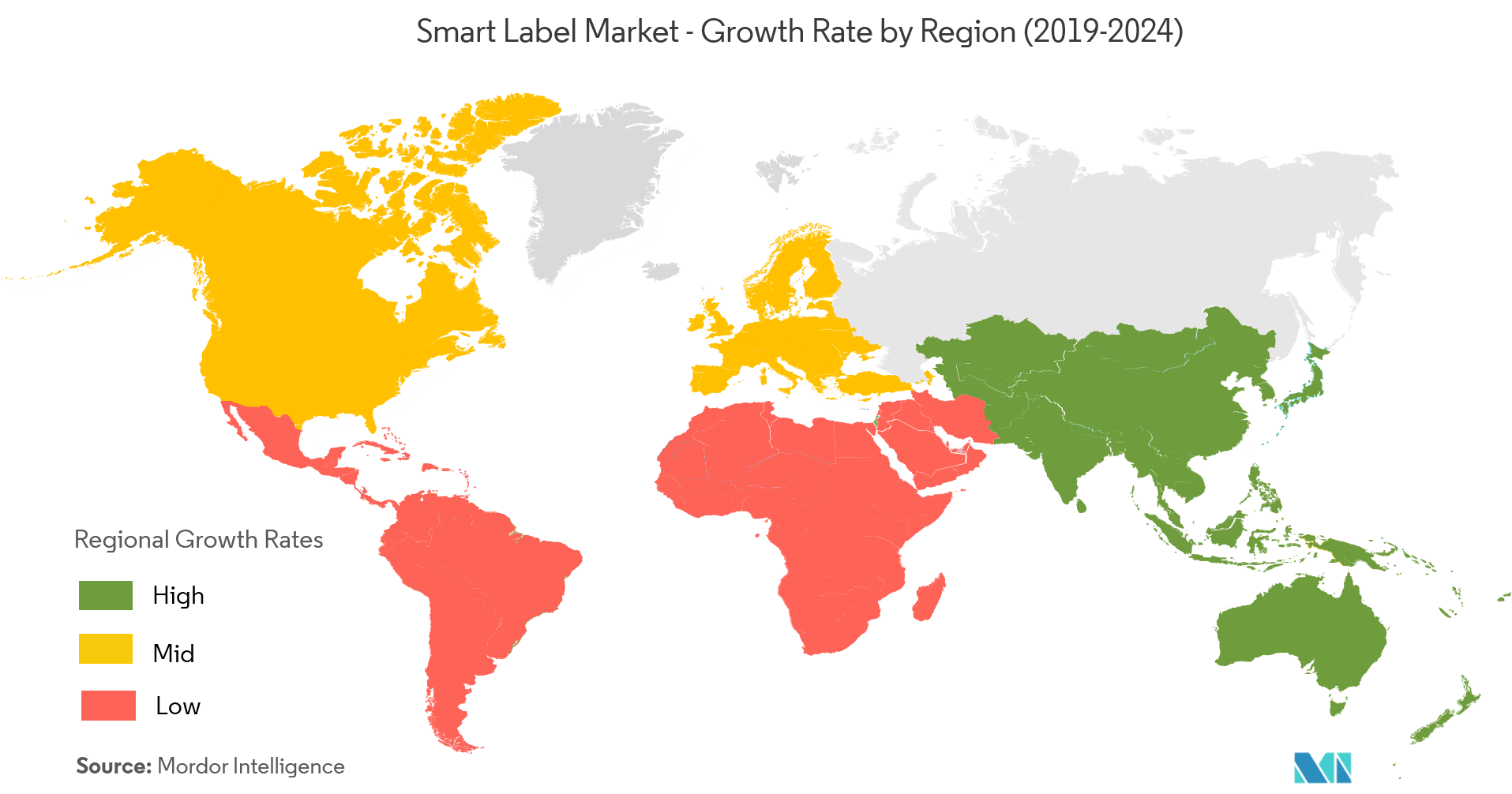 Smart Label Market | Growth, Trends, and Forecast (2019 - 2024)
