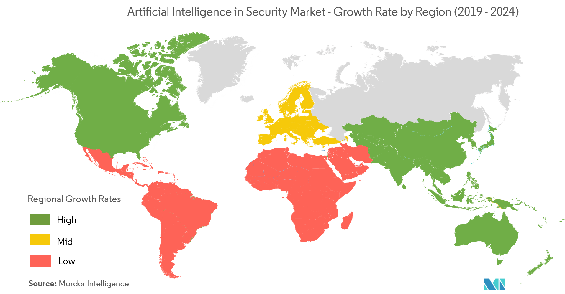 artificial intelligence in security market