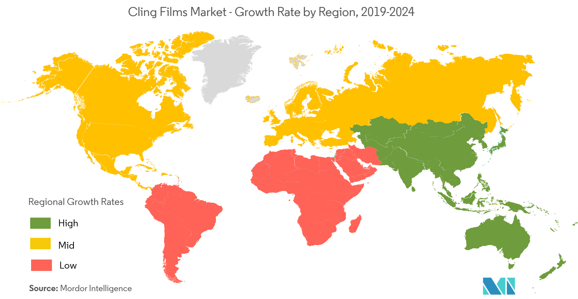 Cling Films market | Growth, Trends, and Forecast (2019 - 2024)