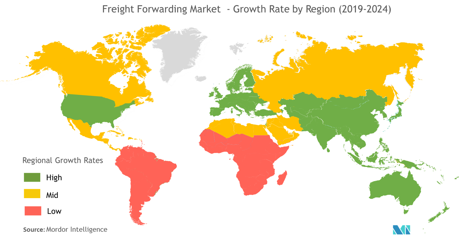Freight Forwarding Market | Growth, Trends, and Forecast (2019 - 2024)