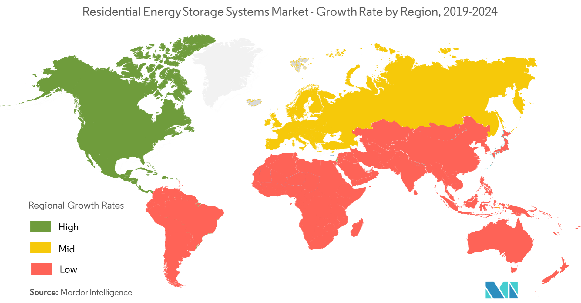 Residential Energy Storage Systems Market - Regional