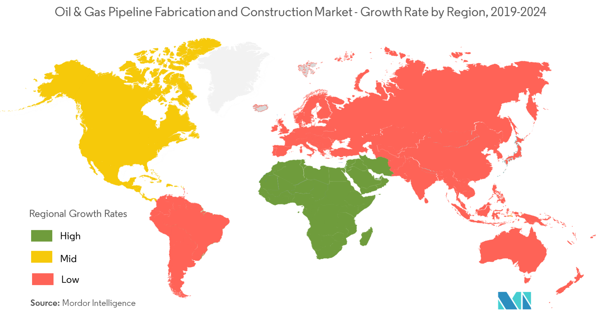 Oil & Gas Pipeline Fabrication and Construction Market - Regional