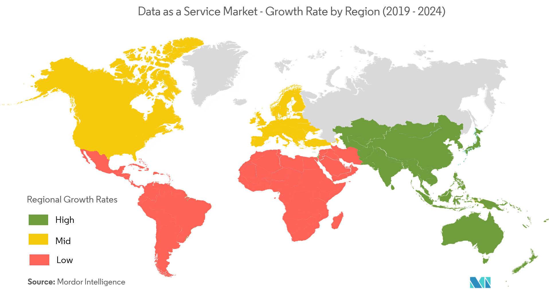 Data as a Service Market Growth
