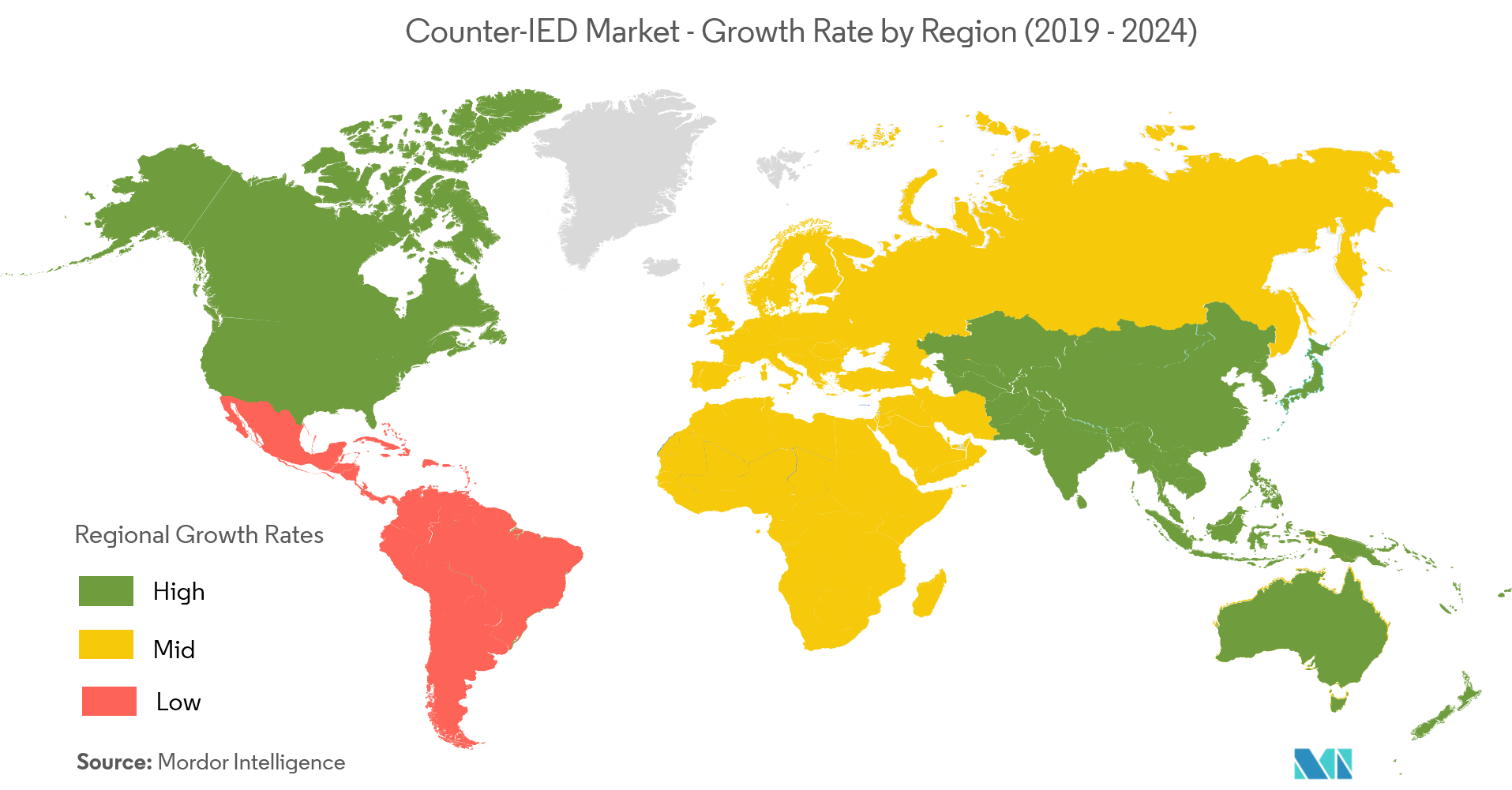 Counter IED Market Geography