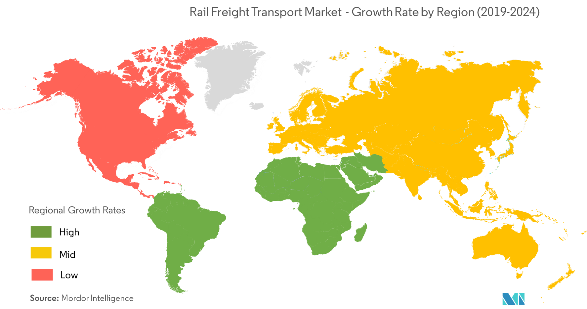 Rail Freight Transport Market   Growth, Trends, and Forecast