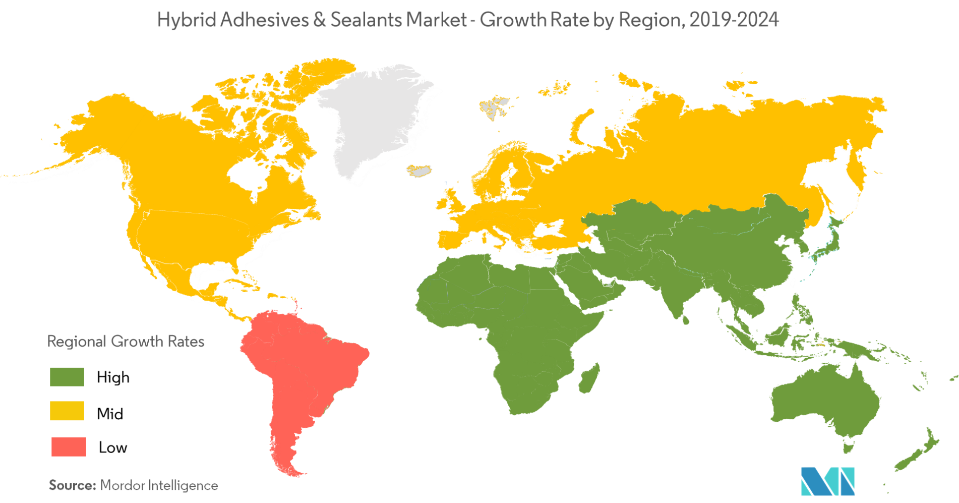 Hybrid Adhesives and Sealants Market - Regional Trends