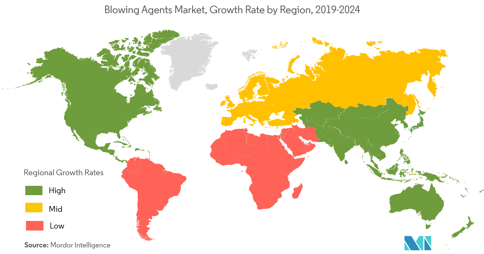Blowing Agent Market- Regional Trends