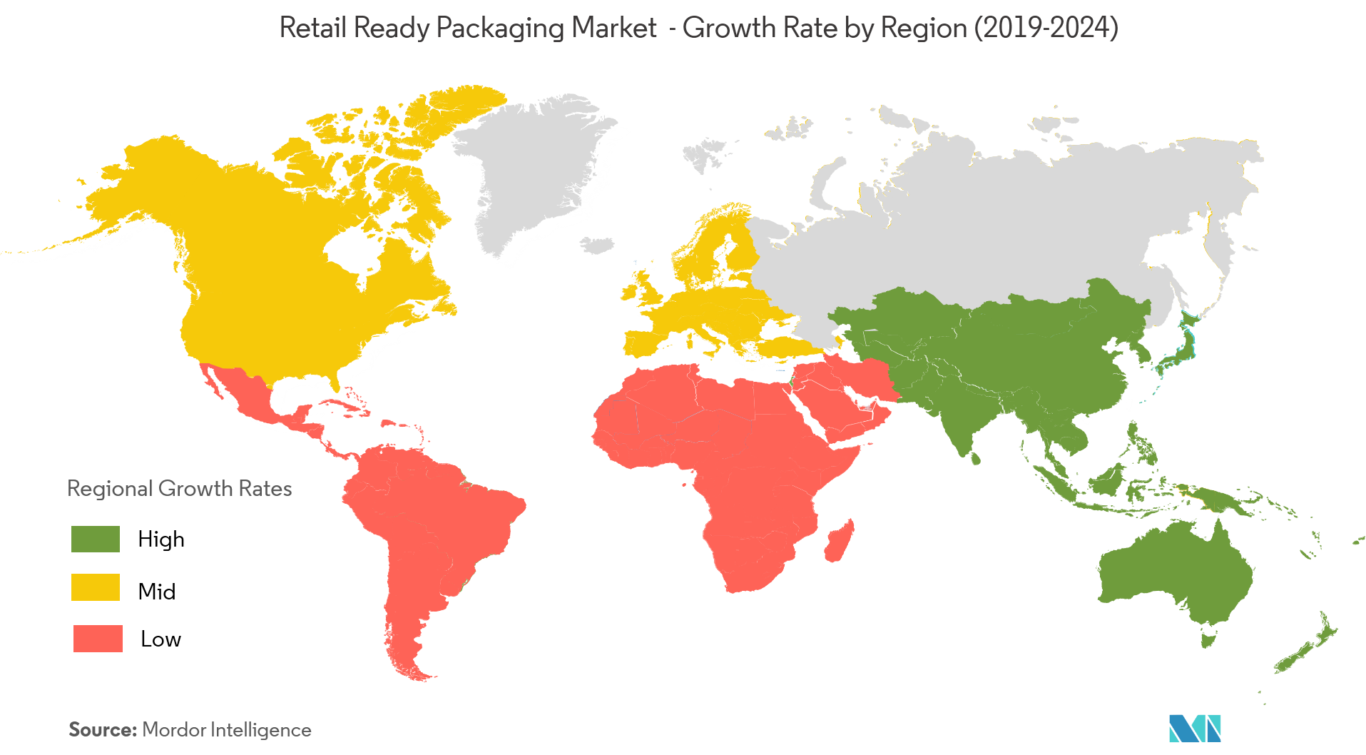 Retail Ready Packaging Market Growth Rate