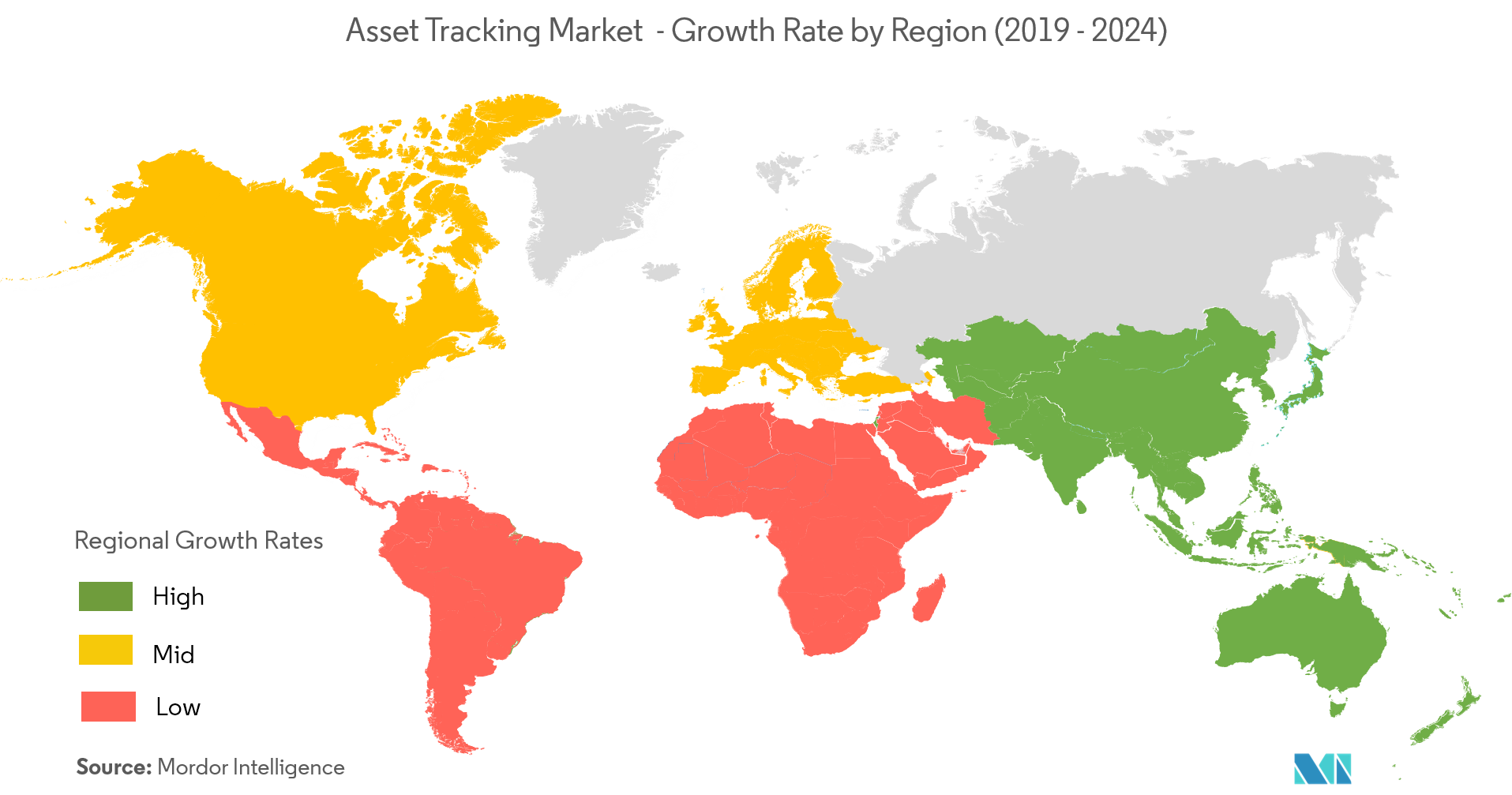 Asset Tracking Market Growth