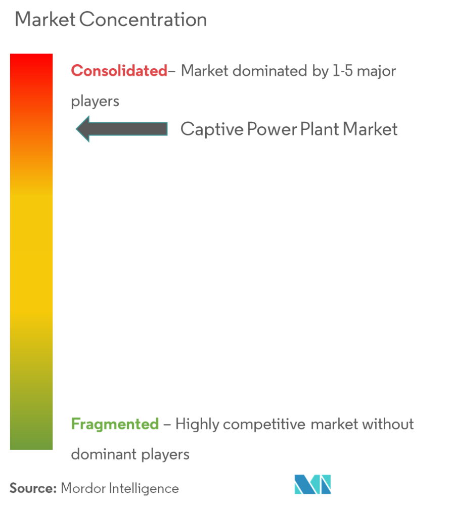 Market Concentration - Captive Power