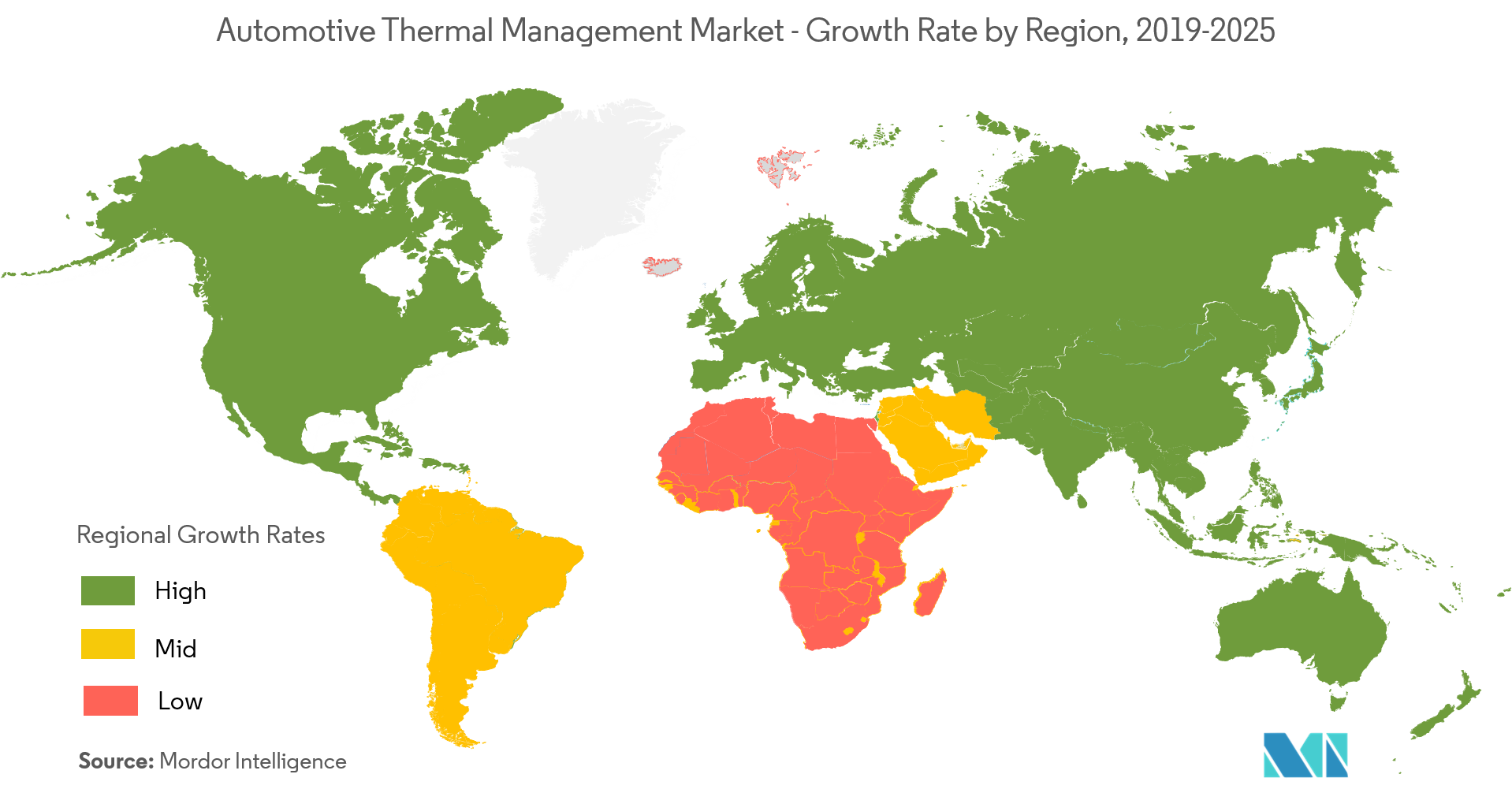 Automotive Thermal Management Market Growth Rate
